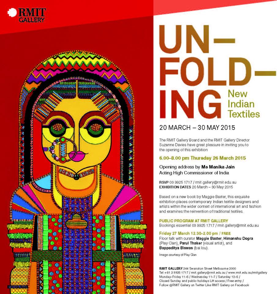 Pin Board » Unfolding- New Indian Textiles